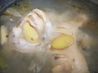 流口水的口水鸡,水开煮30分钟