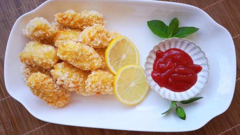 番茄沙司巴沙鱼排