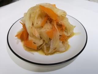 凉拌白萝卜