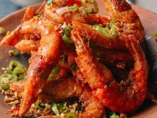 椒盐虾,来试试吧!
