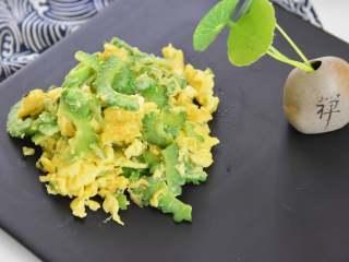 苦瓜炒蛋,有营养不虚胖,简单容易做