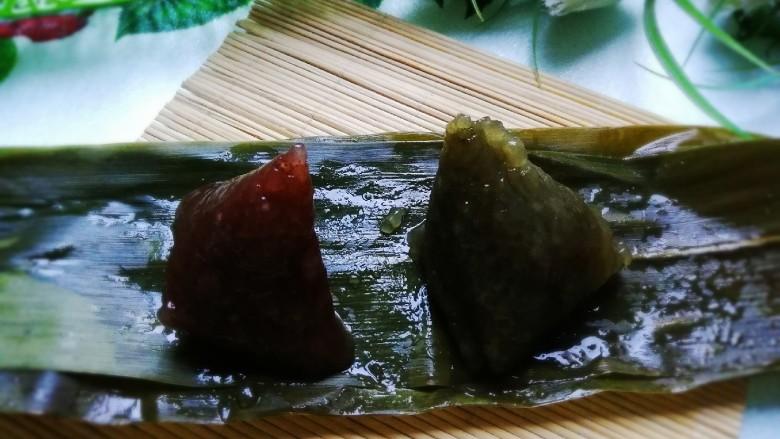 水晶粽,Q弹筋道的水晶粽