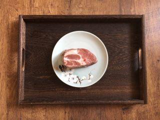木须肉,猪肉可选用瘦肉,我愿选用的是梅花肉。