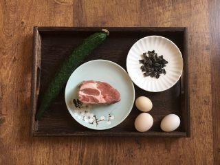木须肉,主要食材:猪肉、鸡蛋、木耳、黄瓜。