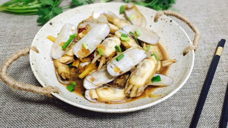 下酒菜+香炒蛏子