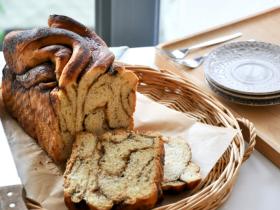 黑糖肉桂 辫子面包