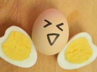 让你开心一整天的【爱心蛋】