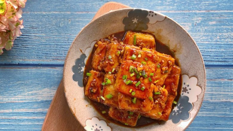 红烧豆腐(锅塌豆腐)