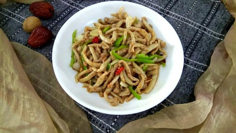 凉拌蟹味菇