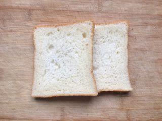 益生菌西士多,面包片两片