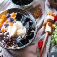 自制红豆芋圆烧仙草,这个夏天教你正确打开紫薯芋头黑凉粉