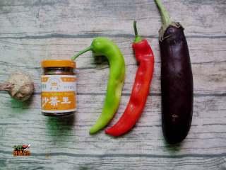 超下饭的蒜香红烧茄子,准备食材