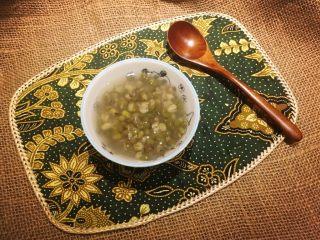 清凉一下绿豆汤,哒啷哒啷!
