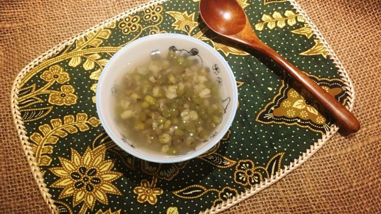 清凉一下绿豆汤