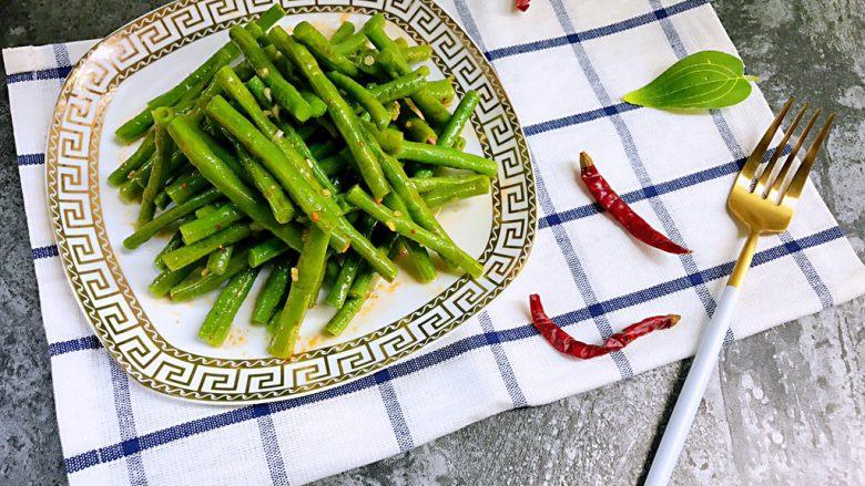 夏日清爽小凉菜——凉拌豆角