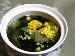 连皮冬瓜薏仁汤
