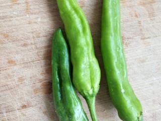 干煸豆角,青椒也是自己家菜园里哦蔬菜都是健康产品