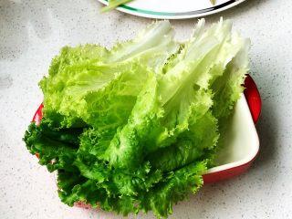 快手营养早餐09,生菜摆盘;