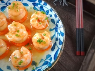 虾仁玉子豆腐,成品