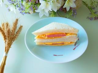 自制午餐肉三明治