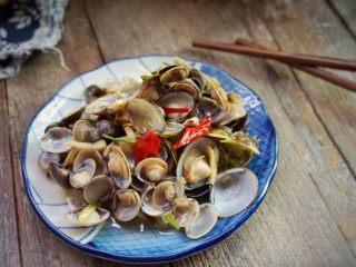 梅汁炒蛤,好吃