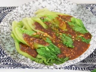 吃腻了大鱼大肉?那就来道清胃的蚝油生菜吧!, 又嫩又香的蚝油生菜上桌啦~