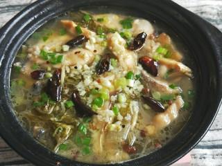 下饭神器之砂锅酸菜鱼