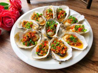 蒜蓉牡蛎,成品图二