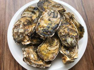 蒜蓉牡蛎,牡蛎11个