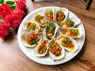 蒜蓉牡蛎,成品图三