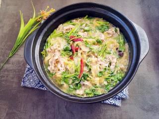 羊肉酸菜砂锅