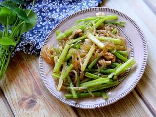 芹菜炒粉条