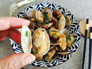 下酒菜+蚝油炒花甲,个个鲜甜肥美😍