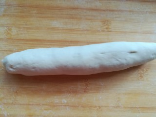 豆腐粉条蒸包,搓长条