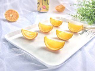 夏日小清新:橙子果冻,浓郁的橙香味……