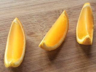 夏日小清新:橙子果冻,或者用刀切成小块,直接啃。