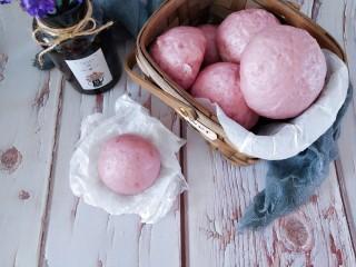 奶香紫薯馒头 ,吃不完的馒头冷却后可以冷冻保存至一个月,吃的时候回个锅