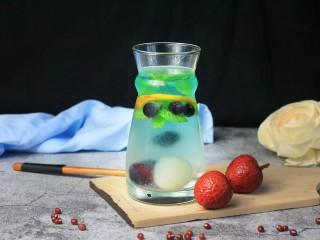 蓝色之恋 夏日饮品,美味就完成啦!冰爽一夏!