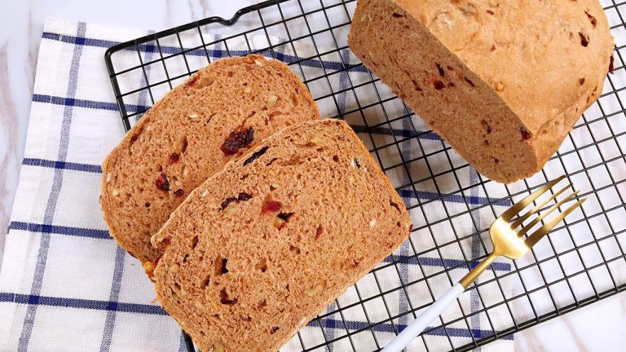 面包机版无糖低脂全麦面包