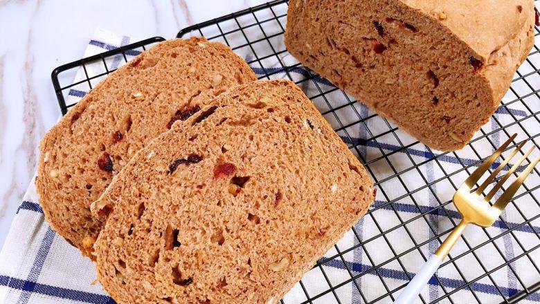 面包机版无糖低脂全麦面包,再来一张