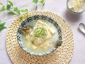 奶白鮮美的秘訣:白蘿卜豆腐鯽魚湯