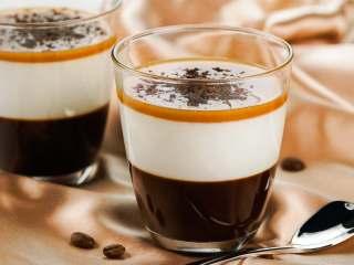 焦糖咖啡奶冻