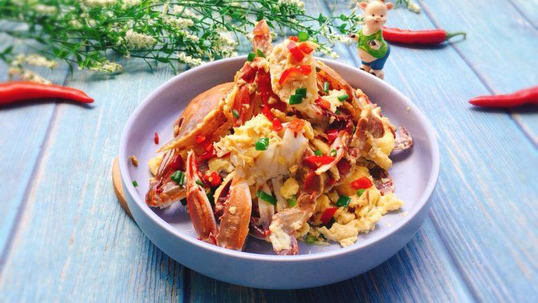 下酒菜+螃蟹抱蛋