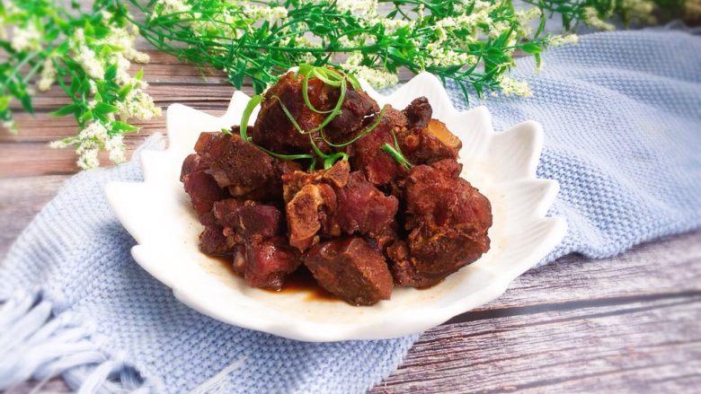 家常菜+酱骨肉,成品图