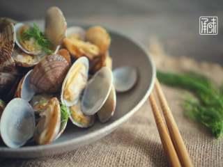 承味莳萝 清酒 蒸蛤蜊,这才是深夜食堂的标配吧。,成品3