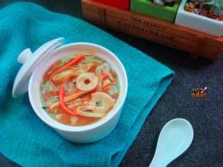 快手杂汤,当做早餐晚餐都很不错的