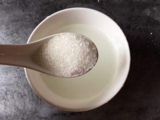 糖醋豆腐,1勺白糖