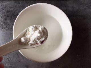 糖醋豆腐,半碗水加1勺生粉