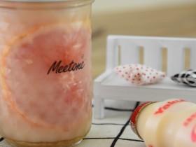 蜂蜜西柚养乐多—酸酸甜甜,让你冰凉一夏