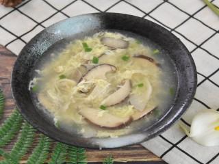 双菇蛋花汤—一份你最需要的温暖